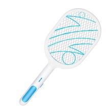 USB аккумулятор светодиод ошибка Zapper ракетка электрический Fly Swatter Mosquito Killer Kill Bugs Instant And Effectively