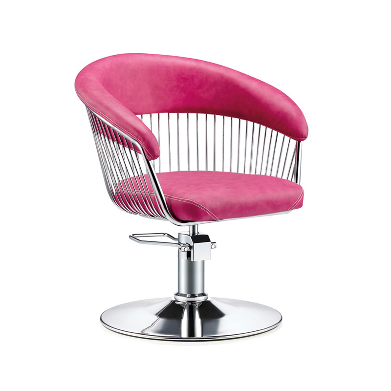 Simple Hairdressing Chair Hair Salon Dedicated Lifting Net Red Chair Barber Shop Haircut Chair High-end Beauty Chair