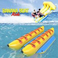 Free Shipping Inflatable Flying Fish Water Ocean Lake River Sea Floating Banana Boat Tube Kayak Inflable Towable Fishing Boat