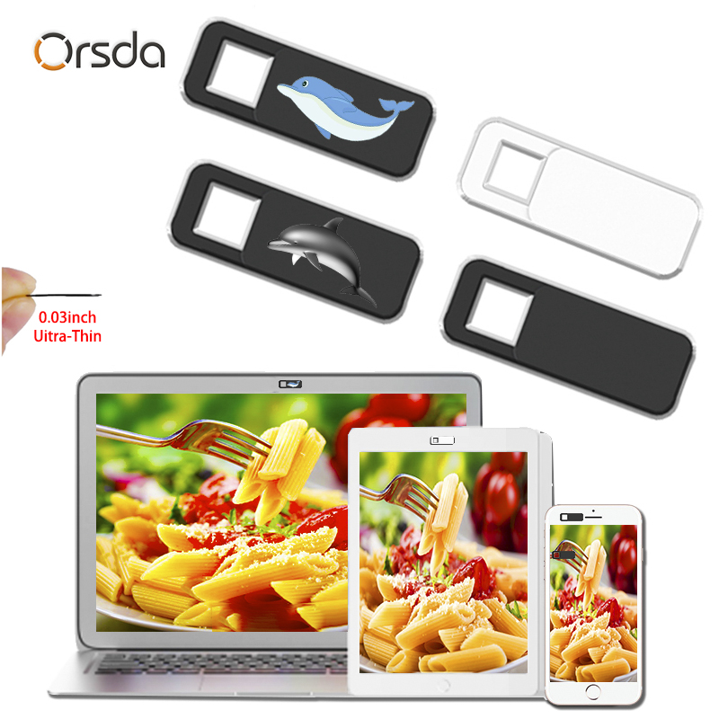 Orsda Webcam Cover Slider Laptops Camera Cover Shutter Web Cam Cover Magnet Phone IPad PC Macbook Tablet Privacy Sticker