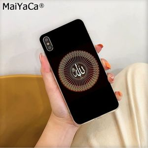 Image 2 - MaiYaCa funda de móvil para Apple, protector de móvil musulmán, islámico, Bismillah, ala, iphone 11 pro, 8, 7, 66S Plus, X, XS, MAX, 5S, SE, XR