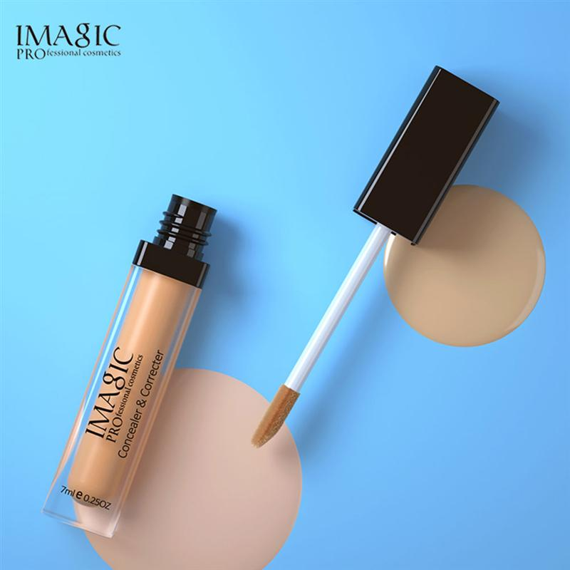 1 PC Base Foundation Liquid Concealer Moisturizing Cream Oil Control Permeable Cream Concealer Foundation For Women Girls Ladies