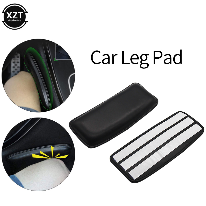 Cushion Thigh Support Knee Pad Interior Universal Accessories Soft Leather Car Seat Pillow