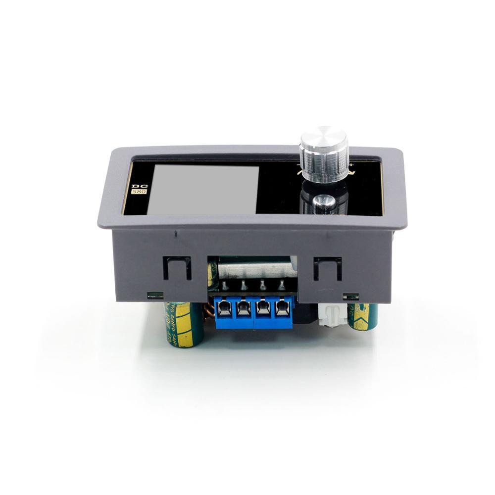 80W DC convertisseur mâle CC Module d'alimentation CC 0.6-30V 5A réglable alimentation régulée voltmètre ampèremètre CNC écran couleur