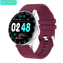 цена на H30 Smart Watch Women 2020 Waterproof Heart Rate Reminder Health Monitor Pedometer Watch Disc Bluetooth iOS Android Smartwatch