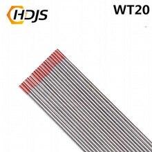 10 шт./качество хорошее WT20 красный цвет тория Вольфрам электродная головка Вольфрамовая игла/стержень для сварочного аппарата 1,5/1,6/2,0/2,4/3,0/3,2