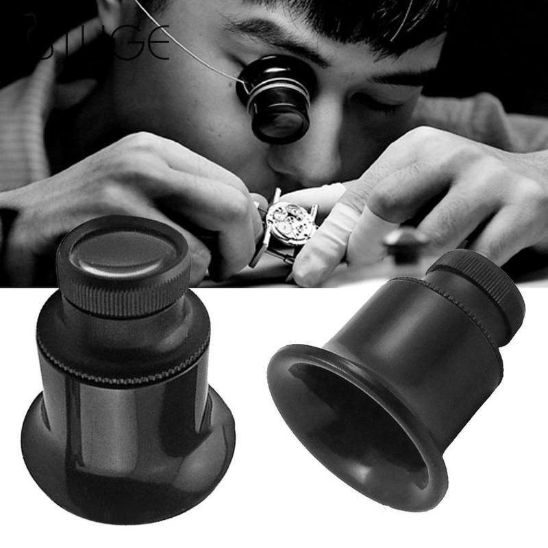 Watch Eyes 20x Jeweller Optical Glasses Magnifier Jeweler Watch Repair Eye Glasses Optical Lens Watch Repair Tool Kit