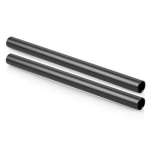 Image 5 - Jadkinsta 2PCS Aluminum Alloy Diameter 15mm Rods 10cm 25cm 30cm 40cm Long with M12 Screw Hole for DSLR 15mm Rod Rig Clamp