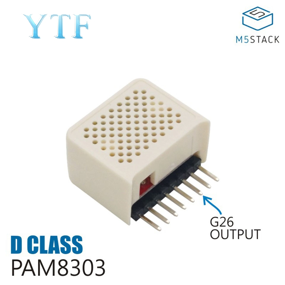 M5Stack Stick C-Compatible Built-In Speaker Amplifier IC PAM8303 Do MP4 / MP3