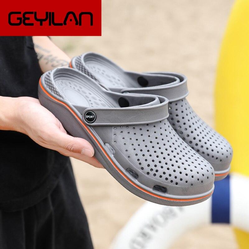 Coslony hommes sandales sabots 2020 Crok Adulto Crocse crocs chaussures EVA sandalias sport été plage extérieur chaussures pantoufles pour homme