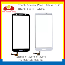 цена на 10Pcs/lot Touch Screen For Motorola Moto G6 XT1925 XT1925-3 XT1925-5 Touch Panel Digitizer Sensor Front LCD Glass Lens G6