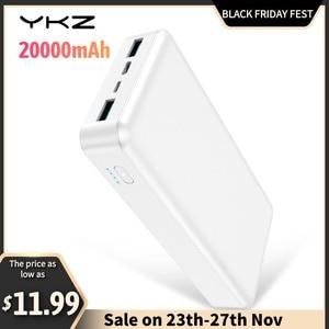 YKZ Power Bank Mini Power Bank 20000Mah Portable Charger Power Bank Fast Charge Powerbank 20000mAh for iPhone 12 Pro Max Xiaomi