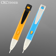 Electricity Test Pencil Digital 90-1000V 12-1000V AC Voltage Detector Non-Contact Tester Pen Tester Meter Volt Current Electric multiple induction pencil non contact electrical test pencil 50 1000v ac voltage detector tester indicator locate wire break 609