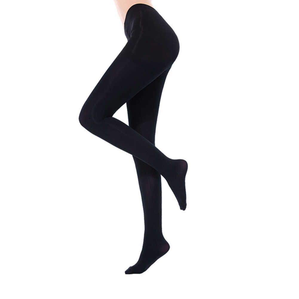 One Size Inverno Leggings Caldi delle Donne Ghette Sexy Della Signora di Colore Solido Addensare Stretch Footed Collant Nono Pantaloni Leggings Caldo