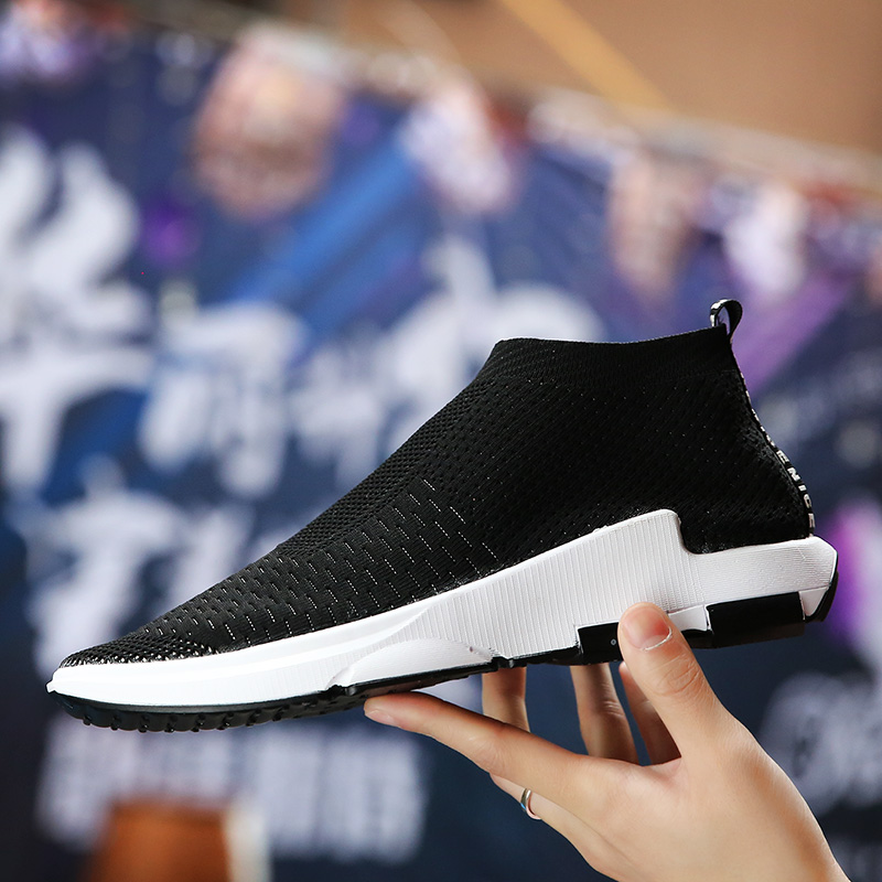 Men Running Shoes Breathable Men Slip on Comfort Outdoor Sneakers Sport Walking Jogging Trainer Athletic Breathable Mesh Shoes in Running Shoes from Sports Entertainment