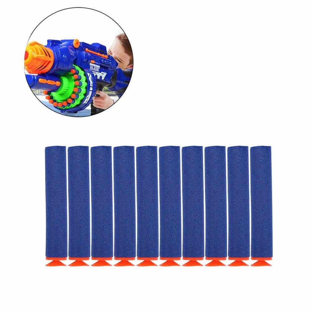 Baru Sucker Anak Panah Peluru 100 Pcs 7.2 Cm Busa Bandolier Aksesoris untuk NERF N-strike Elite Series Safe Toy bagian Mainan Anak