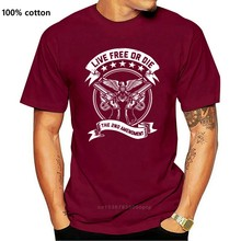 Second Amendment Live Free Or Die Gun Rights 2Nd Amendment Dtom Molon Labe Shirt Graphic Tee Shirt