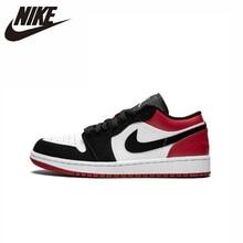 Air Jordan 1 aj1 low Original New Arrival Men Skateboarding Shoes Comfortable Sports Sneakers #553558 цены онлайн