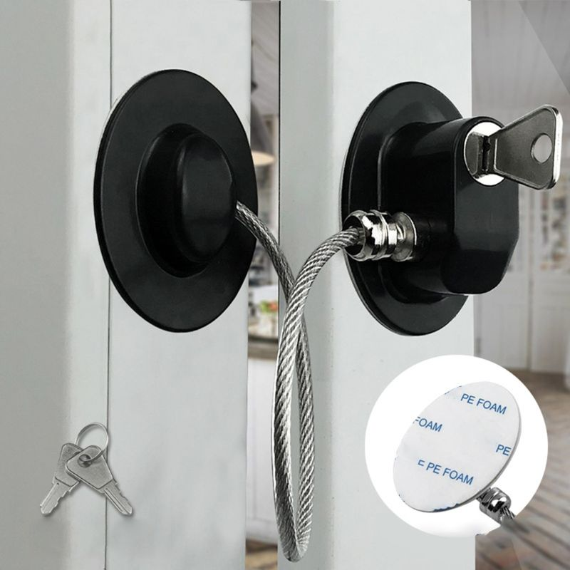 Practical Child Baby Safety Lock Window Lock Refrigerator Door Security Locks H3CD