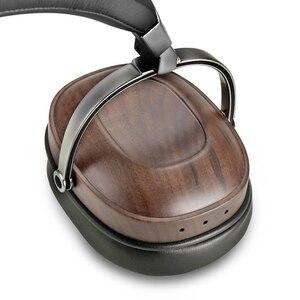 Image 4 - B8 Tai Nghe HIFI Stereo Năng Động Bằng Gỗ Tai Nghe Chụp Tai Over Ear DJ Giám Sát Tai Nghe Phòng Thu Âm Thanh Loại Bỏ Tiếng Ồn Tốt Tai Nghe