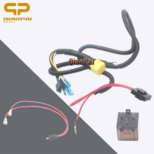Universal Car Wire Harness Air Horn Auto Connect 12V 24V 100A Relay Socket Train Disc Vehicle Compress Accessory