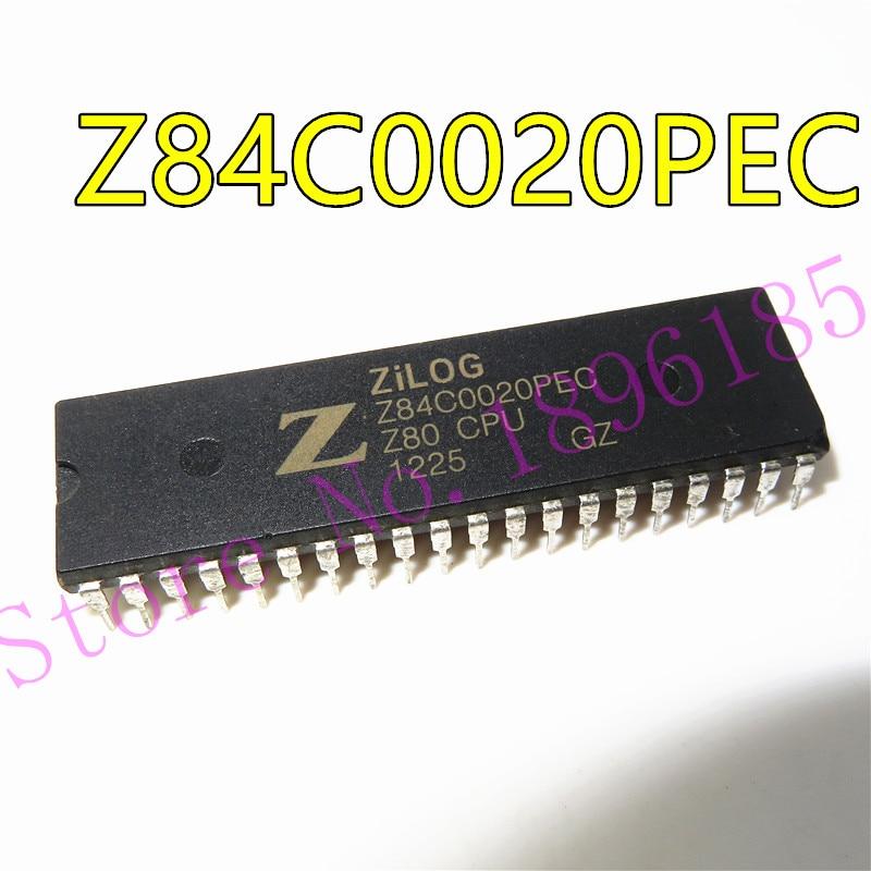 5p x Z84C0020PEC Original Pulled Zilog Integrated Circui