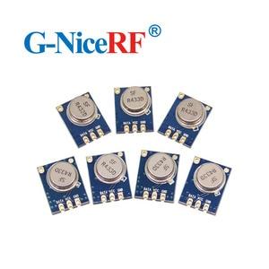 Image 1 - 8pcs/lot  433MHZ  Superheterodyne ASK RF Transmitter Module STX882  including spring antenna