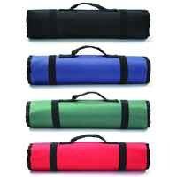 Sacos de ferramentas à prova dwaterproof água dobrável chave saco ferramenta rolo armazenamento bolso ferramentas bolsa portátil caso organizador titular