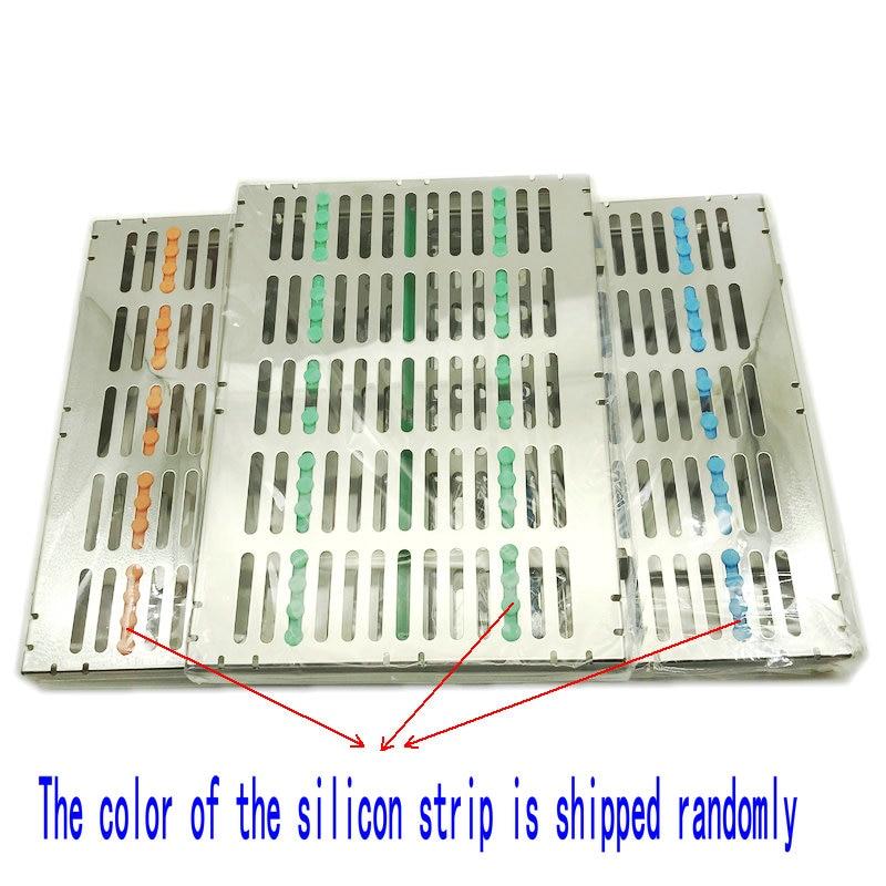 Dental Sterilization Cassette Rack Tray Box for 20 Surgical Instruments Sale!!