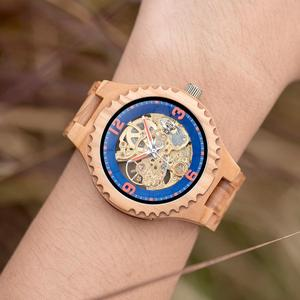 Image 2 - Relogio Masculino BOBO BIRD Wood Watch Men Luxury Brand Automatic Wristwatches Groomsmen Present reloj hombre OEM Dropshipping