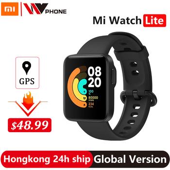 Xiaomi Mi zegarek Lite GPS Fitness pulsometr Tracker 1 4 calowy budzik Redmi inteligentny zegarek nadgarstek wersja globalna tanie i dobre opinie CN (pochodzenie) Brak Na nadgarstek Zgodna ze wszystkimi 128 MB Krokomierz Rejestrator aktywności fizycznej Rejestrator snu