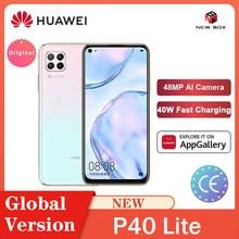 HUAWEI Hisilicon Kirin 810 Octa Core P40 Lite 6GB 128GB Smartphone 48MP AI Kameras 6.4 ''FHD Bildschirm 40W QC الهاتف الخلوي Celular