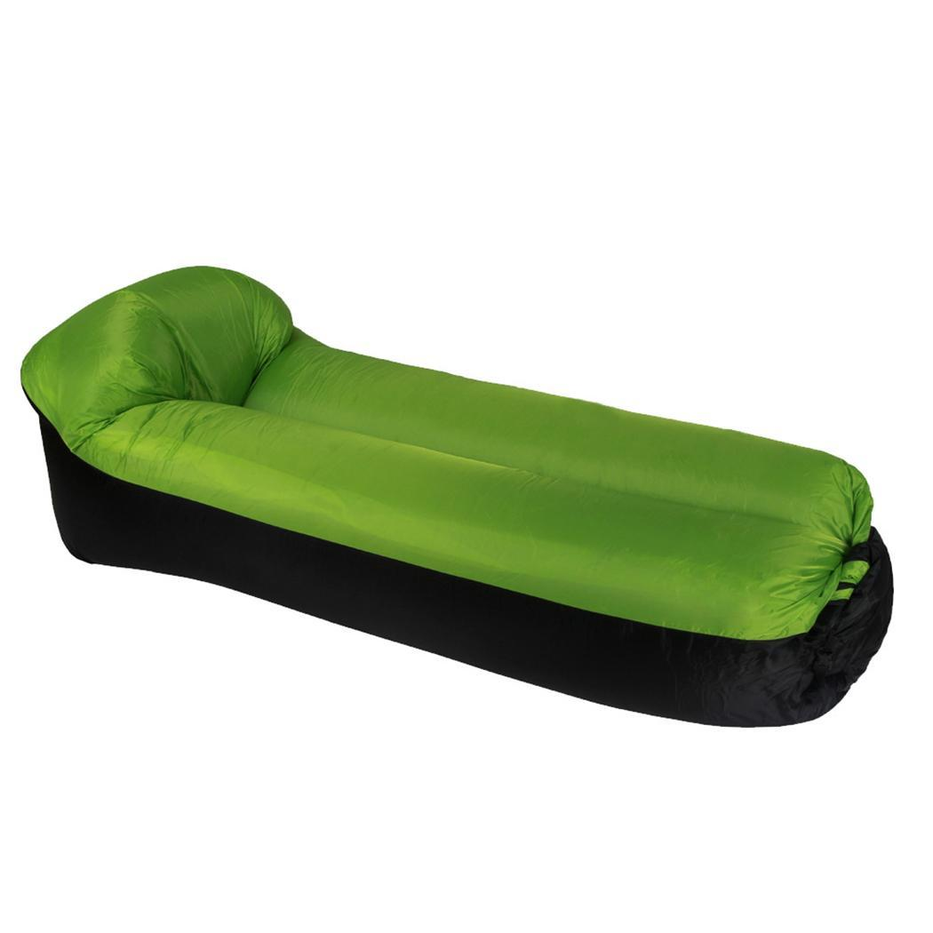 Inflatable-Bed Outdoor with Pillow Camping Hiking Portable Waterproof Aerated Mattress