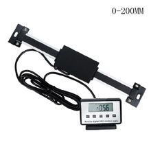 цена на Digital Remote Scale Dual Use LCD Display DRO Table Readout Ruler for Lathe High Quality and Brand New