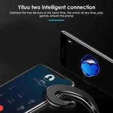 Mais novo bluetooth fone de ouvido condução óssea fone sem fio bluetooth 4.1 esportes condução estéreo ruído cancell para o telefone