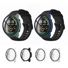 Hard Edge Screen Glass Protector Case Shell Frame For Xiaomi Mi Watch Color Sports Version Smart Watch Protective Bumper Cover