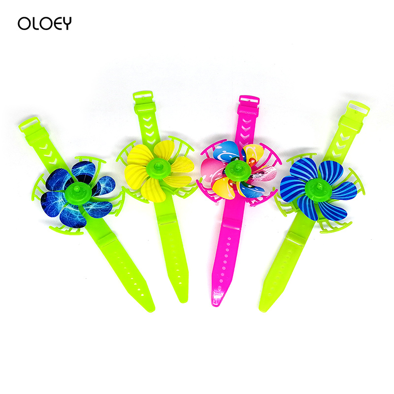 20PC Kids Happy Birthday Party Gift Windmill Watch Baby Shower Favor Party Souvenir Baptism Gift Pinata Fillers Goody Bag Happy