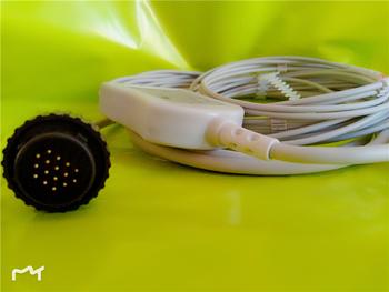 Kmtkeramed jednoczęściowy kabel serii AHA KANZ PC-104 Kanz 103 106 Cardioline remcoddelta 1 3 30 60 delta 1 plus delta 3 plus tanie i dobre opinie Ciśnienie krwi CO016BAA IEC 4 7k Resistance Banana