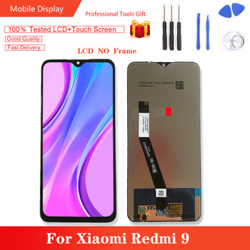 6.53'' Original For Xiaomi Redmi 9 LCD Display 10 Touch Screen Panel LCD Digitizer Assembly Replacement for Redmi9 lcd screen display panel for chimei innolux 8inch g080y1 t01