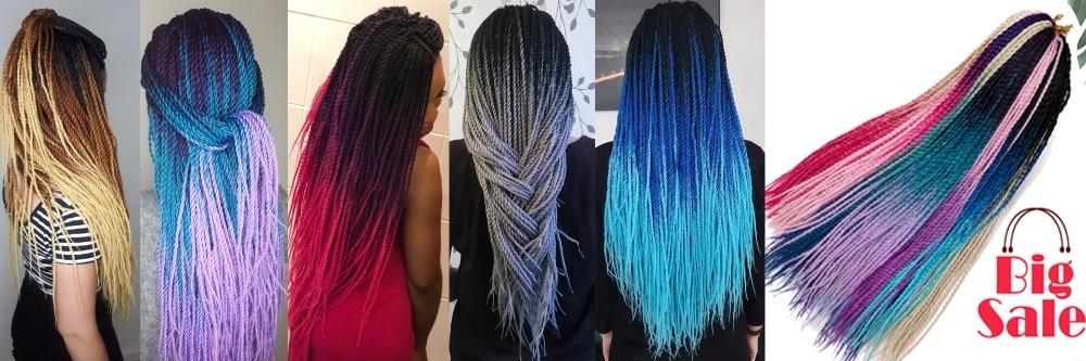 Ombre Senegalese Twist Hair 1920x640
