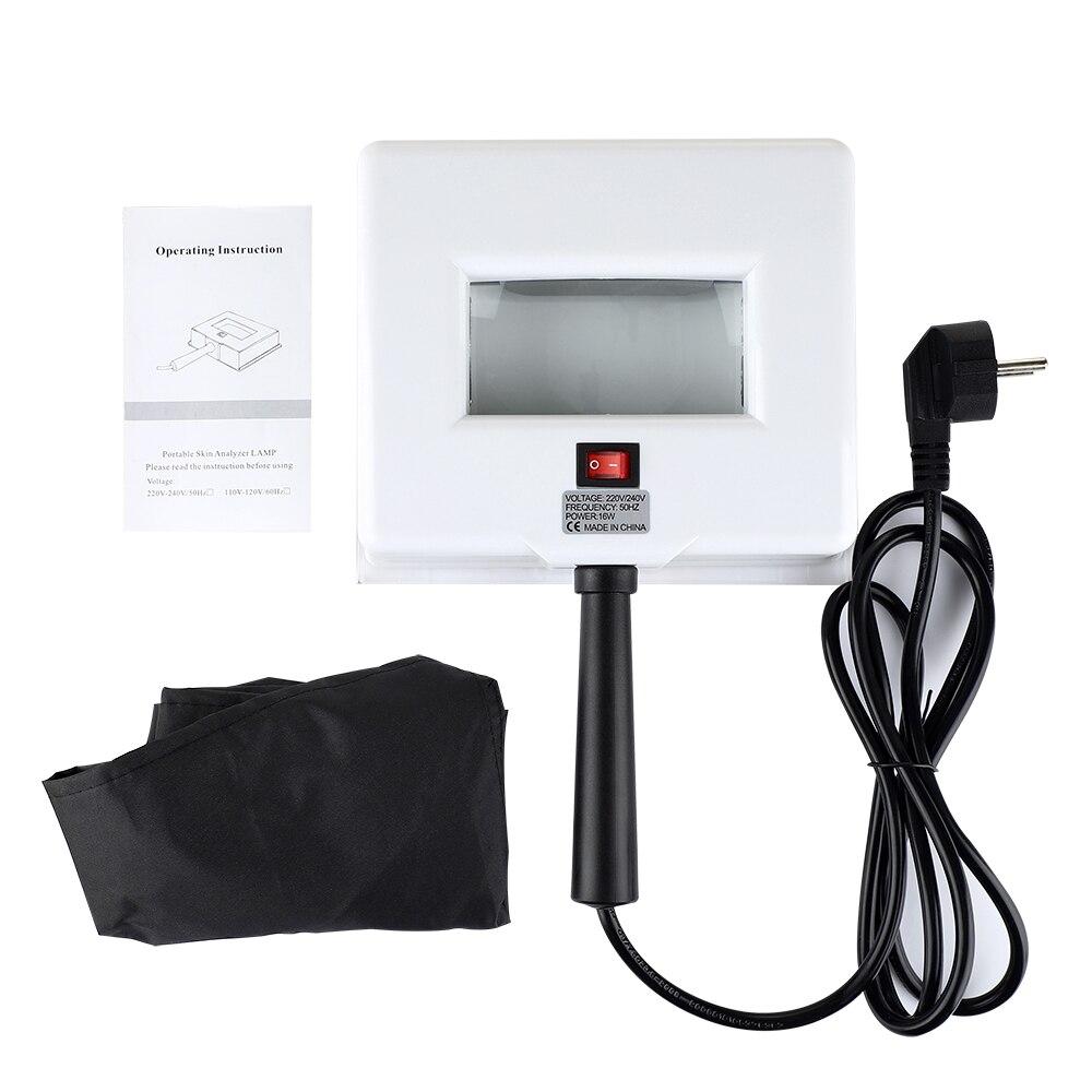 УФ-анализатор кожи, деревянная лампа для анализа кожи, УФ-лампа для осмотра кожи, устройство для тестирования кожи, диагностический инструм...