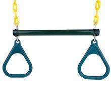 Ensemble d'anneaux de barre de balançoire trapèze d'extérieur, accessoires de gymnastique pour exercices de Fitness, adaptés pour mettre dans une aire de jeux