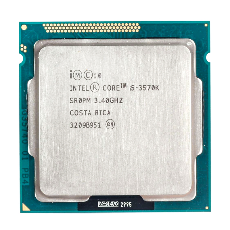 Intel Core i5-3570K i5 3570 K 3.4 GHz Quad-Core CPU Processor 6M 77W LGA <font><b>1155</b></font> for desktop image