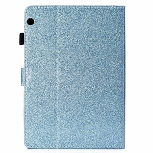 "Image 4 - מקרה עבור Huawei MediaPad T3 10 9.6 ""AGS L09 W09 כיסוי עור בלינג גליטר כרטיס חריץ Stand מקרה הכבוד לשחק כרית 2 9.6 אינץ מקרה"
