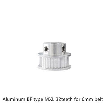BF type MXL Timing Pulley 32 teeth Bore 6.35mm for width 6mm Synchronous Belt Small backlash 32Teeth image