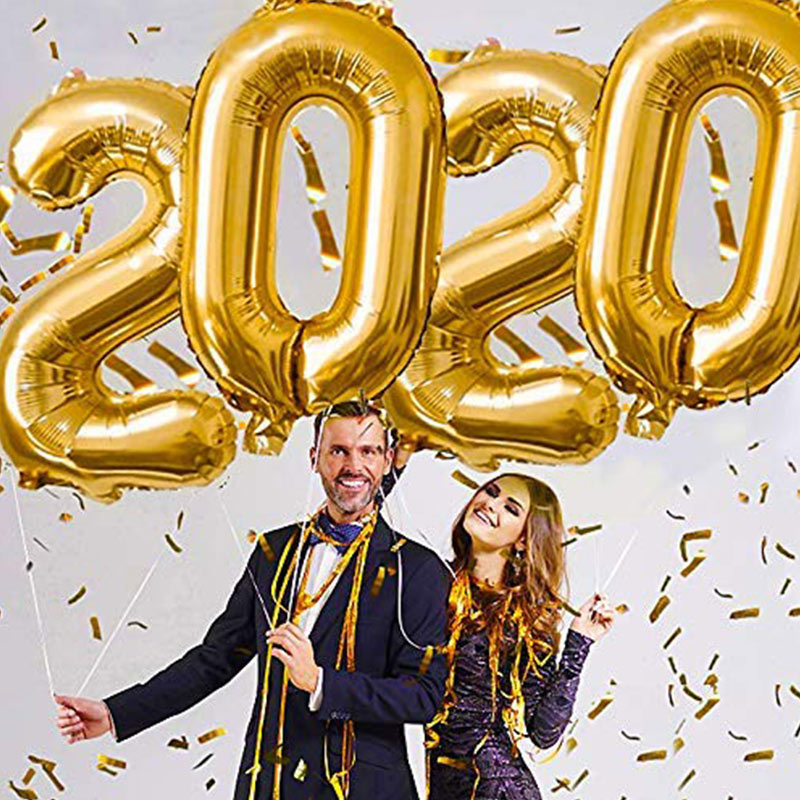 40inch 2020 Balloons Graduation Party Decoration Graduation Photo Booth Props Graduated Class Of 2020 Party Supplies Photobooth