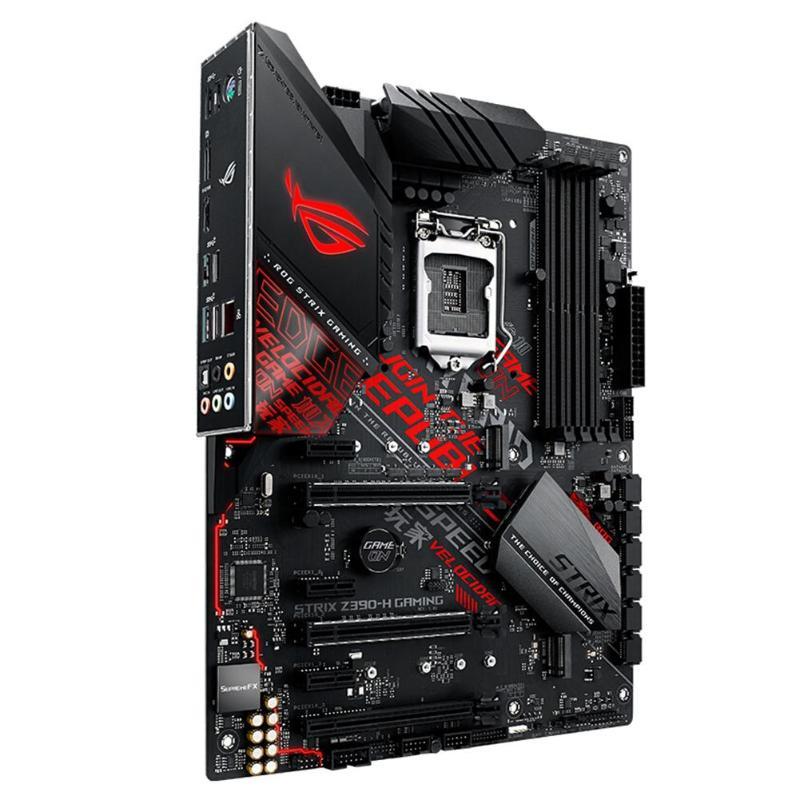 ASUS ROG STRIX Z390-H GAMING Z390 Socket LGA 1151 DDR4 DIMM ATX carte mère CPU puce d'affichage intégrée