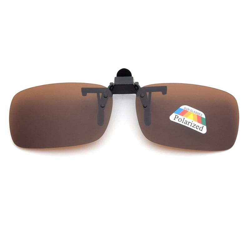 Car Driver Goggles Anti  Polarized Sun Glasses Driving Night Vision Lens Clip On Sunglasses Interior Accessories