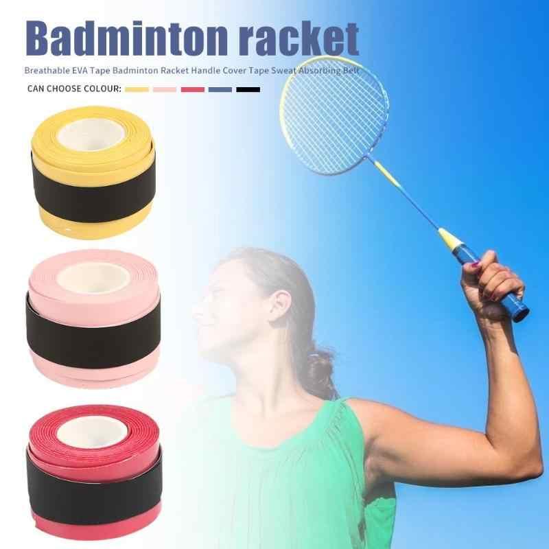 Caña de pescar cinta de raqueta de bádminton antideslizante pegamento de mano cinturón absorbente de sudor