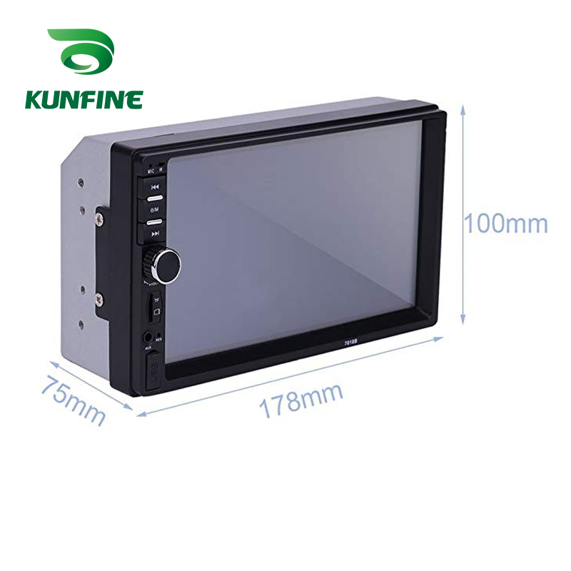 7 Touch Screen Car Radio Double Din Car Stereo MP5 MP3 Player  with Bluetooth FMUSBAUX 7010B (3)